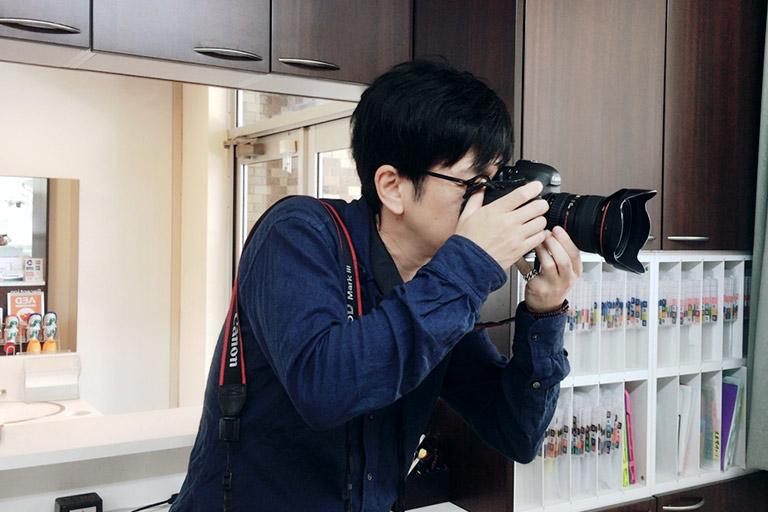 歯科専門ホームページ制作カメラマン派遣